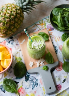 Pina-Colada-Green-Smoothie